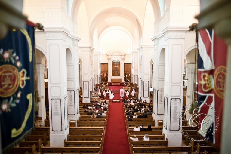 royal memorial chapel wedding at sandhurst