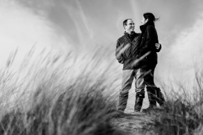 Holkham Beach Wedding Photos
